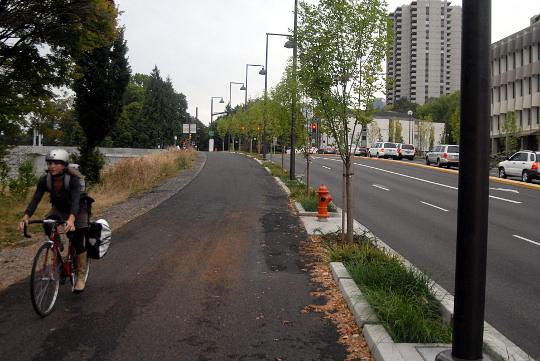 orange line path lead