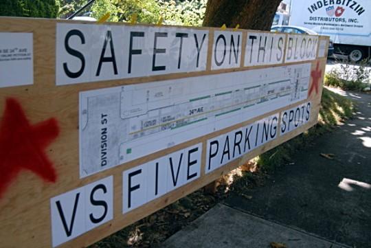 safety vs parking close