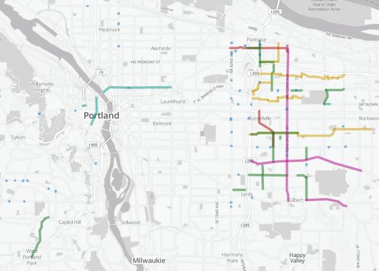 street fee map