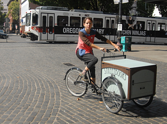 streetbooks pedaling