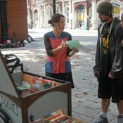 Bike-based 'Street Books' library will expand thanks to bike shop's donation