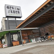A close-up look at the best business bike parking in Portland