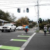 First Look: 50s Bikeway adds diverters, crossings at Burnside and Division