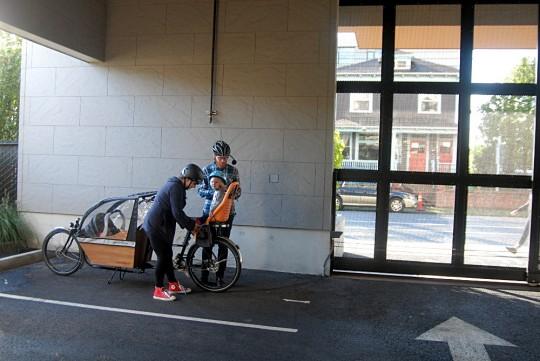 cargo bike wide angle