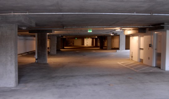 empty lower garage