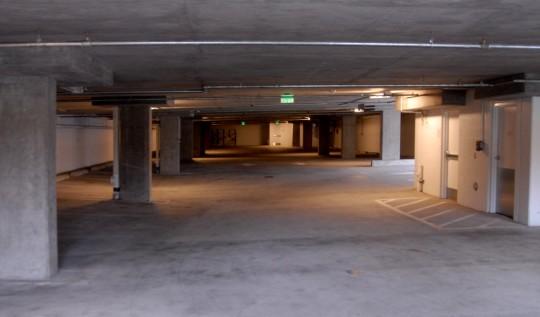 empty lower garage