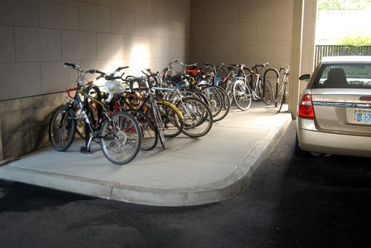 normal bike parking