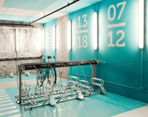hassalo bike parking design concept