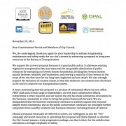 Public health, environmental, and transpo orgs say street fee proposal is 'good public policy'