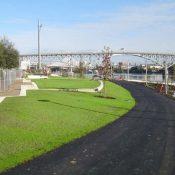 New section of riverfront path in South Waterfront nears completion