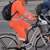 What do you think? Encouraging high-vis gear