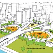 James Beard Market plans could be chance to fix Morrison Bridge bike access issues