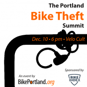 Agenda set for the Portland Bike Theft Summit