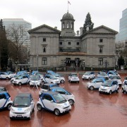 Portland is the car2go capital of North America