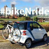 Half of Portland car2go vehicles now have rear bike racks