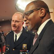 'Bicycling community' work noted at swearing-in for new Portland police chief