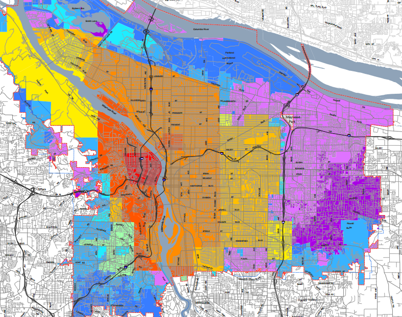 Parking and planning Lessons from a map of Portland land value