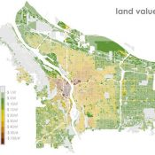 Parking and planning: Lessons from a map of Portland land value