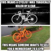 Company places 14 orange bikes in Beaverton as part of marketing ploy