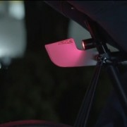 Sombra bike light 'lampshade' aims to reduce blinking effect, improve visibility
