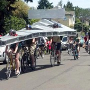 Free to good home: a bicycle-powered star destroyer