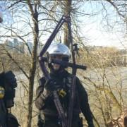 Police search suspected Springwater chop shop, find stolen frame  (video)