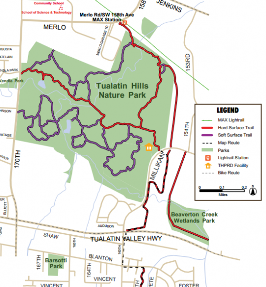 westside trail plan