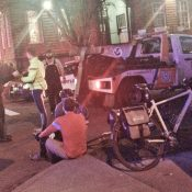 Left-hook on N Williams leaves one man injured