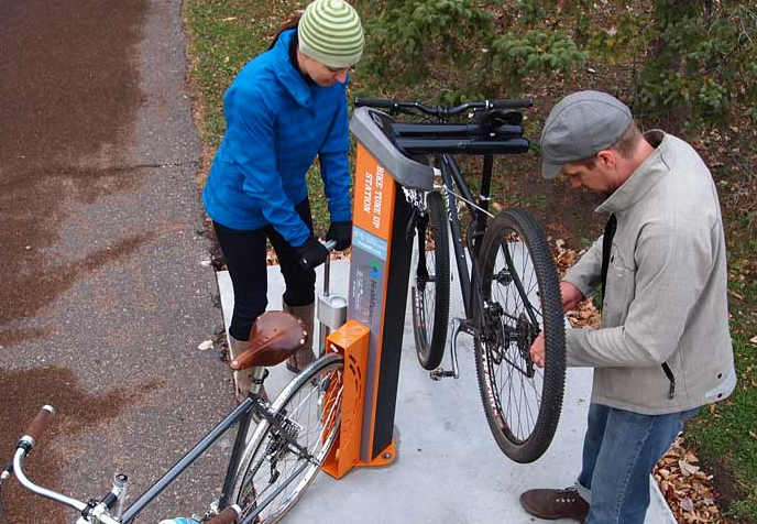 Bikes Shop Washington County bike repair station