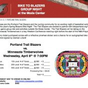 Join us for Blazer Bike Night on Wednesday, April 8th