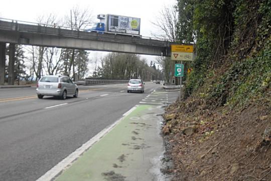 capitol highway overpass