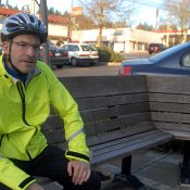 SW rider mini-profile: Jeff Knapp, lured by a simple bike lane