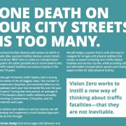 City's new 2-year transportation 'workplan' steps up to Vision Zero