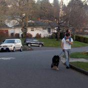 In sidewalkless Southwest, neighborhood greenways are made for walking