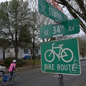 As Clinton Street's bikeway turns 30, locals plan a celebration