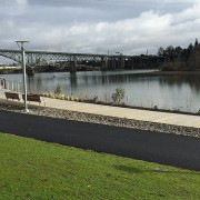 First look: New South Waterfront Greenway offers separate paths for walking, biking