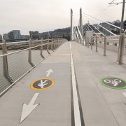 Touring Tilikum: My first walk across the new bridge (photos)