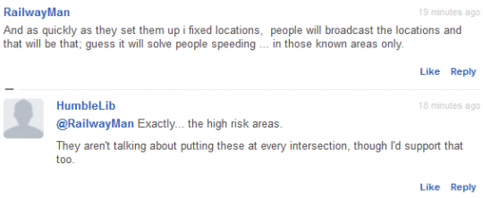 fixed locations