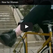 New ad for women's jeans raises the bar for marketing bike products