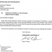 River View bike ban: NW Trail Alliance takes legal action against City of Portland – UPDATED