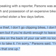 Bike theft 'kingpin' admits crime to local TV reporter