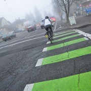 Ask BikePortland: As a driver, what does all that green mean?