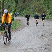 Hey gravel road riders – runners want in on the action too