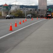 Dear everywhere else: This is how to do a detour. Sincerely, Multnomah County