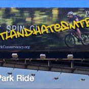 'Free Forest Park Ride' aims to keep heat on trail access issue
