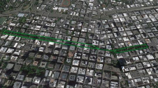 green loop route