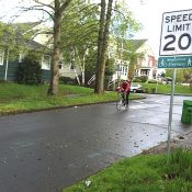 New signs help raise visibility of 'neighborhood greenways'