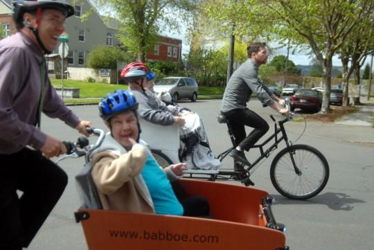 happy box bike