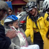 Cycling beyond 80: Providence sponsors trike ride for senior residents (photos)