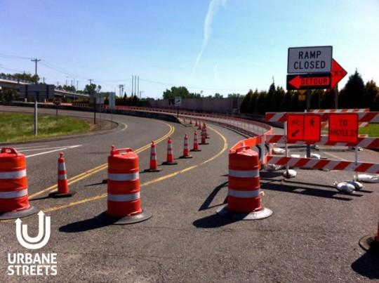 2015.05 Bike Detour ODOT Work Zone - Denver 0 - Boulanger